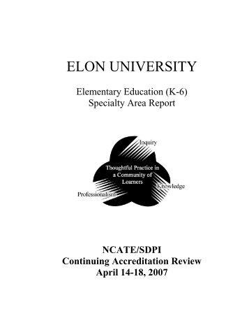 Elementary - Elon University - Organization WebSites