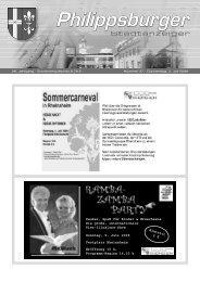 Stadtanzeiger Philippsburg KW27 - Nussbaum Medien
