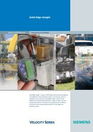 Solid Edge Insight Brochure (German)