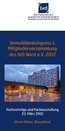Immobilienkongress IVD West - Berndt Medien