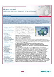 NX NX Design Simulation - PBU CAD-Systeme