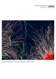Forschungsbericht Research Report 2006 – 2008