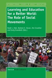 Learning and Education for a Better World: The Role of Social ...
