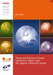 Theory and practice of human Rights and minority rights ... - EURAC