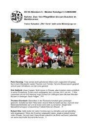 Meister Kreisliga C 2 - SV 04 Attendorn e.V.