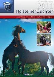 Holsteiner Züchter - SALVANA - Gesunde Nahrung für alle Pferde