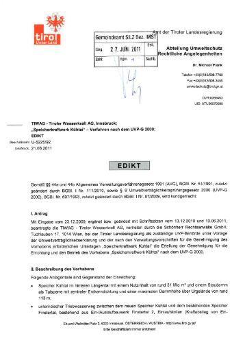 ' Ar ii der Tiroler Landesregierung - Gemeinde Silz