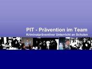 PIT - Prävention im Team - Polizei Bayern