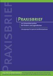 Praxisbrief - Paragraf - Schulrecht für Schleswig-Holstein