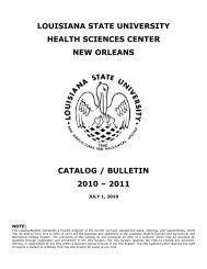 Account Setup Form - LSU Health Sciences Center New Orleans