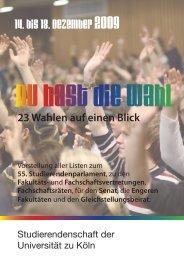 MUSter - LHG - Universität zu Köln
