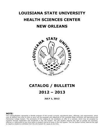 downloadable - LSU Health Sciences Center New Orleans