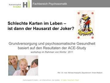 Schlechte Karten im Leben – ist dann der Hausarzt der ... - Infekt.ch