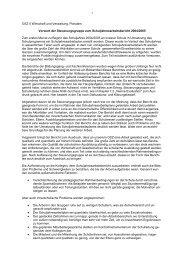 Schuljahresbericht 2004/2005 - Homepage des OSZ II Potsdam