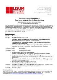 Fachtagung Grundbildung - Bundesverband Alphabetisierung e.V.