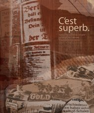 "Katalog zur Wanderausstellung ""C'est superb."" 24. September 2005 ..."