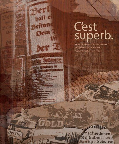 """Katalog zur Wanderausstellung """"C'est superb."""" 24. September 2005 ..."""
