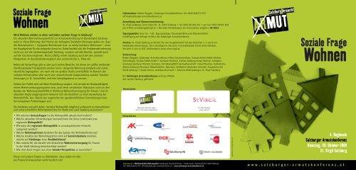 Programm - Salzburger Armutskonferenz