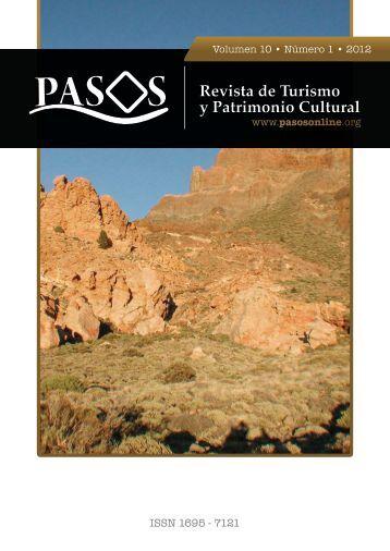 Revista de Turismo y Patrimonio Cultural - Pasos