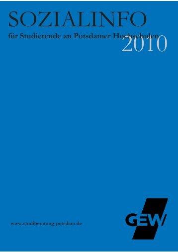 Sozialinfo 2010 - studiberatung-potsdam.de
