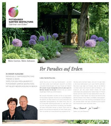 Potsdamer Gartengestaltung, gestaltung - garten-harmonie wolfgang seiler, lindau, Design ideen