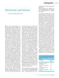 Narzissmus und Internet - Christiane Eichenberg