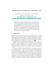 The Biconnected Verification of Workflow Nets - Business Process ...