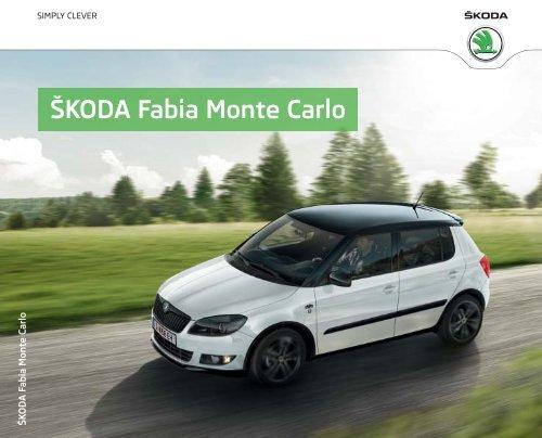 ŠKODA Fabia Monte Carlo - Skoda
