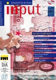 input - Zeitschrift für die Praxis Ausgabe Februar 2010 - Deutsche ...