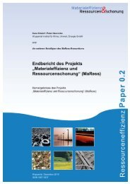 MaRess_final_de.pdf - Publication Server of the Wuppertal Institute ...