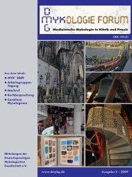 MYK' 2009 - Deutschsprachige Mykologische Gesellschaft eV