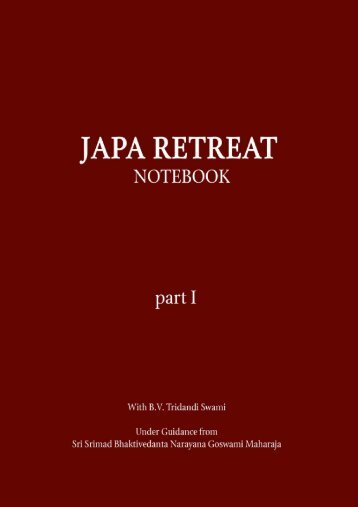 Click here to download the newly revised PDF - Japa Retreats