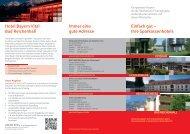 Kompetente Partner - Hotel Bayern Vital