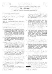Rozporządzenie Parlamentu Europejskiego i Rady (WE ... - EUR-Lex