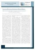 Newsletter des Niedersächsischen Forschungskollegs II ... - FOKO-NS - Seite 6