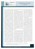 Newsletter des Niedersächsischen Forschungskollegs II ... - FOKO-NS - Seite 7