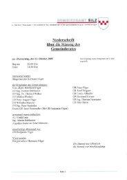 7. Gemeinderatssitzung vom 02.10.2008 (619 KB) - .PDF
