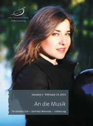An die Musik - The Schubert Club