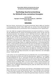 Download - Arbeitskreis Quartiersforschung