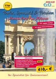 410 - SKAN-TOURS Touristik International GmbH
