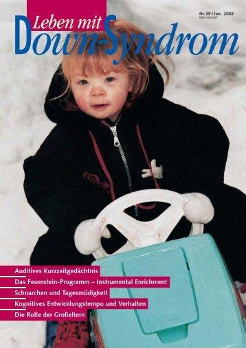 Nr. 39, Januar - Deutsches Down-Syndrom InfoCenter