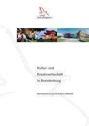 Kultur- und Kreativwirtschaft in Brandenburg - Creative.NRW