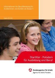 StartKlar - Potsdam für Ausbildung und Beruf - Bundesagentur für ...