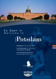 zum Download - Potsdam und Brandenburger Havelseen