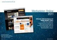 Mediadaten Online 2011 - Möbelmarkt