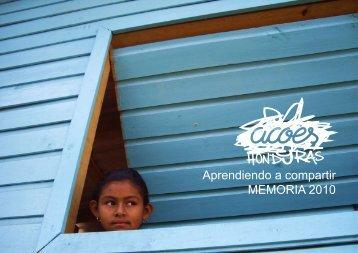 Aprendiendo a compartir MEMORIA 2010 - Fundación ULMA