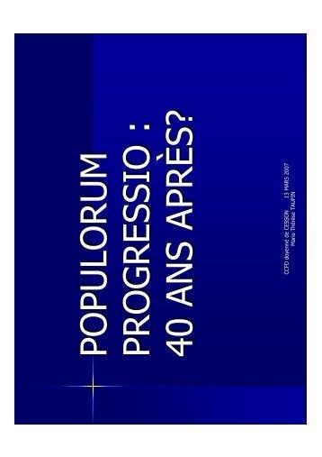 (Microsoft PowerPoint - Populorum progressio Marit\351 Microsoft ...