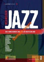 WEGWEISER JAzz - Jazzinstitut Darmstadt