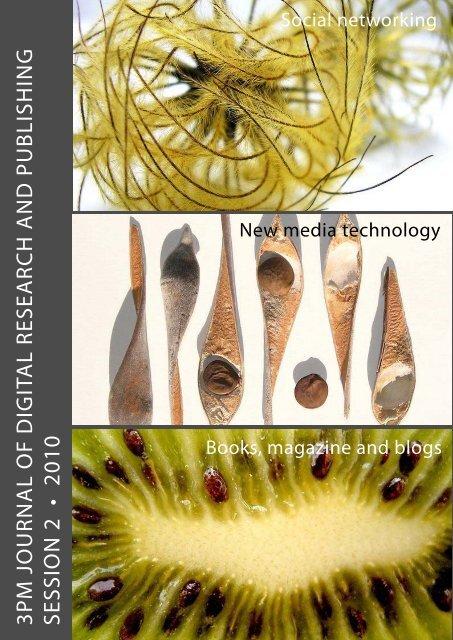 3pm Journal of Digital research & publishing - artichoke web design