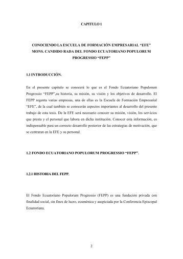 Page 1 2 CAPITULO 1 CONOCIENDO LA ESCUELA DE ...